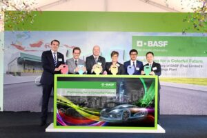 BASF opens first automotive coatings production plant in Thailand