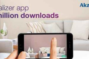 More than 20M use AkzoNobel's Visualizer app