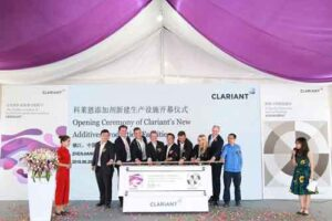 Clariant inaugurates new additives production facilities in China