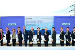 Wacker to invest €60M in new South Korea production plant